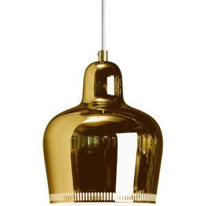 Artek Aalto Golden Bell pendant light A330S