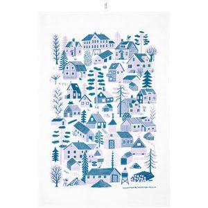 Kauniste Mökkilä tea towel