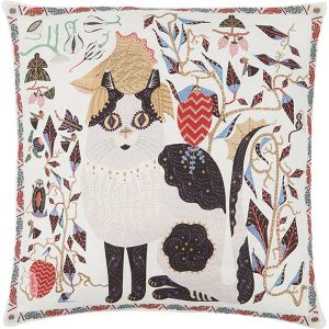 Klaus Haapaniemi Les Chats Ryder cushion cover