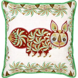 Klaus Haapaniemi Pippa Cat cushion cover