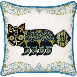 Klaus Haapaniemi Putte Cat cushion cover
