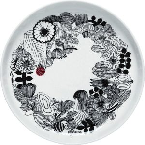 Marimekko Oiva - Siirtolapuutarha salad platter