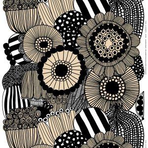 Marimekko Siirtolapuutarha cotton/linen fabric