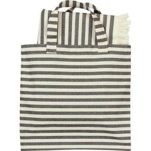 Marimekko Tasaraita bag & fabric set