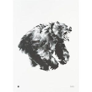 Teemu Järvi Illustrations Bear poster