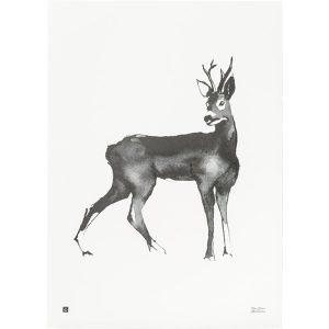 Teemu Järvi Illustrations Deer poster
