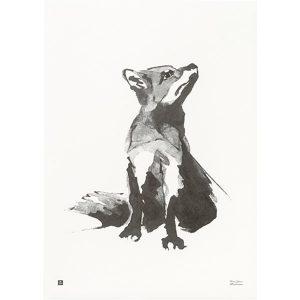 Teemu Järvi Illustrations Fox poster