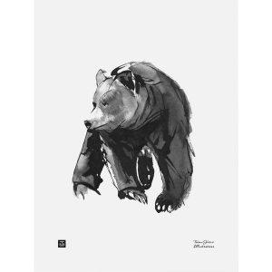 Teemu Järvi Illustrations Gentle Bear poster