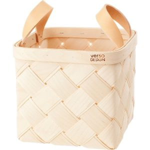 Verso Design Lastu birch basket S