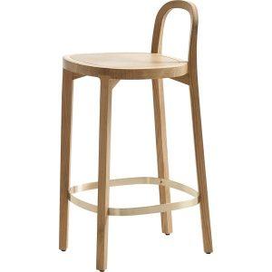 Woodnotes Siro+ bar stool 65 cm